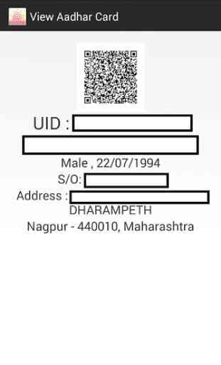 E Aadhaar Card Reader 3
