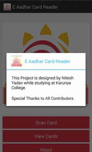 E Aadhaar Card Reader 4
