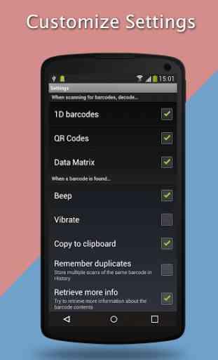 QR Code Scan & Barcode Scanner 4