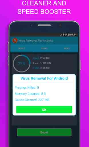 Virus Removal For Android 2