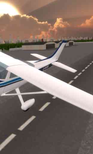 Airplane Simulator Pilot 3D 2