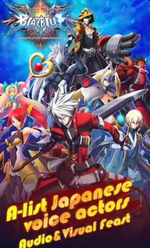 BlazBlue RR - Real Action Game 1