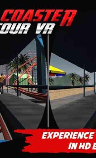 Crazy Roller Coaster VR Tour 1