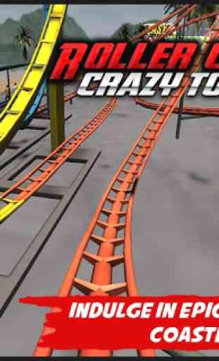 Crazy Roller Coaster VR Tour 2