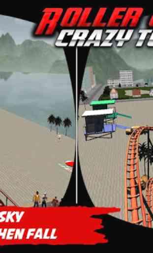 Crazy Roller Coaster VR Tour 3