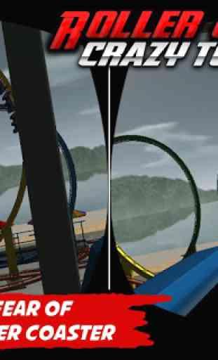 Crazy Roller Coaster VR Tour 4