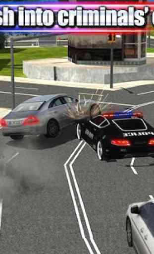 Crime Town Police Car Driver 1