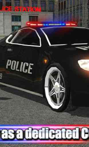 Crime Town Police Car Driver 4