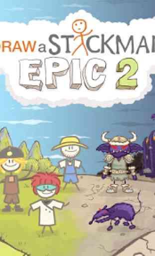 Draw a Stickman: EPIC 2 Free 1