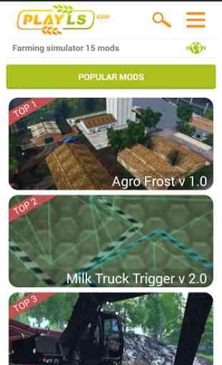 Farming simulator 15 mods 1
