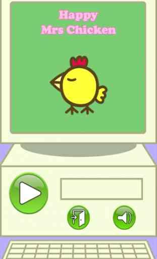 Happy Mrs Chicken 1