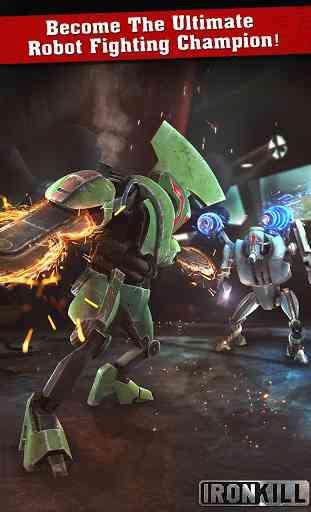 Iron Kill Robot Fighting 4