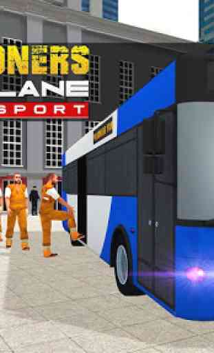 Jail Criminals Transport Plane 1