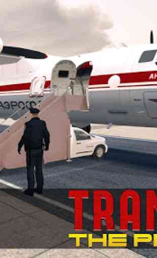Jail Criminals Transport Plane 3