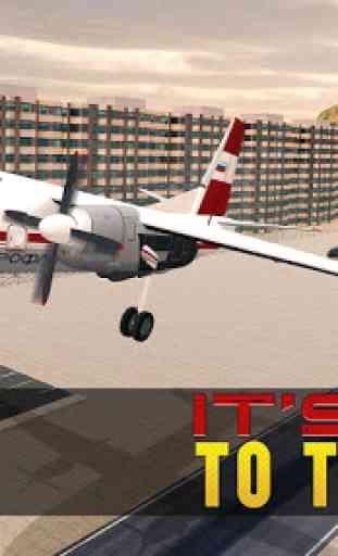Jail Criminals Transport Plane 4