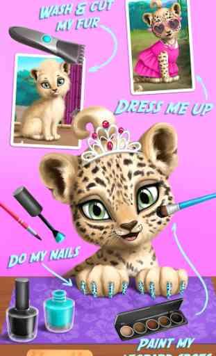 Jungle Animal Hair Salon 1