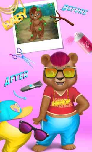 Jungle Animal Hair Salon 3
