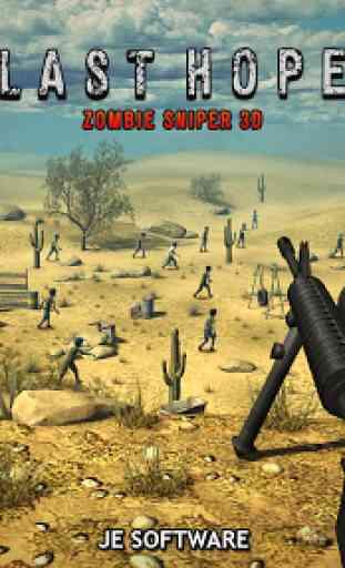 Last Hope - Zombie Sniper 3D 3