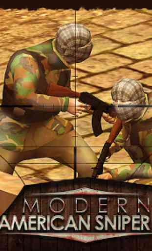 Modern American Snipers 3D 2