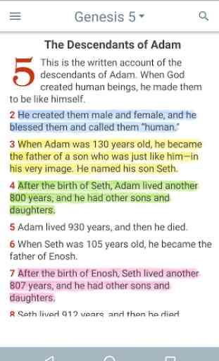 New Living Translation Bible 4