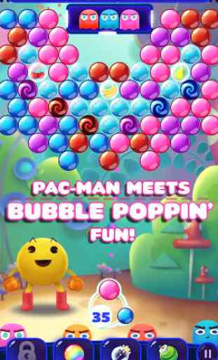 PAC-MAN Pop - Bubble Shooter 3