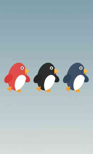 Penguin Run, Cartoon 1