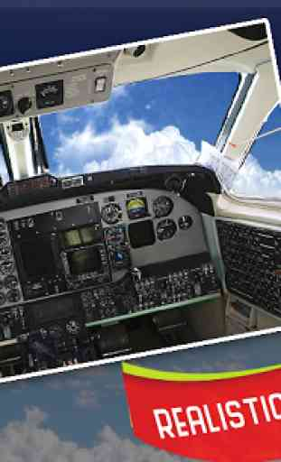Pilot Airplane Driving Sim 3