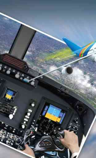 Pilot Airplane Driving Sim 4