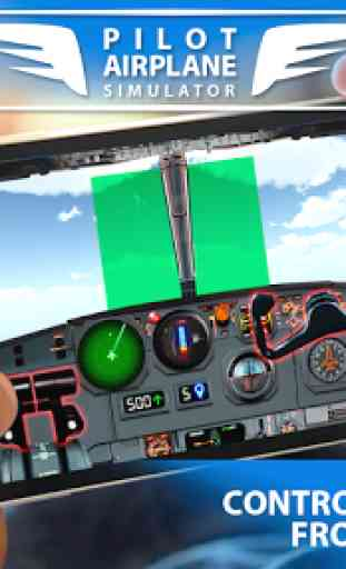 Pilot Airplane simulator 1
