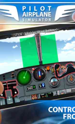 Pilot Airplane simulator 3