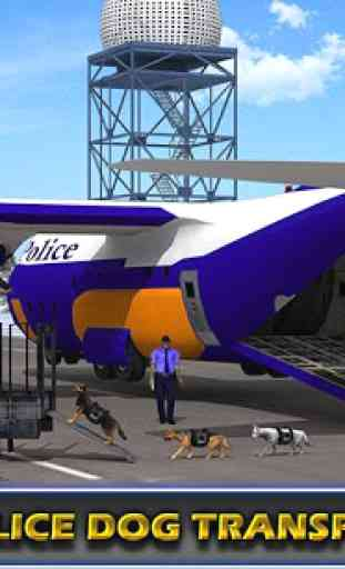 Police Airplane Transporter 1