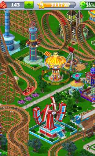 RollerCoaster Tycoon® 4 Mobile 1