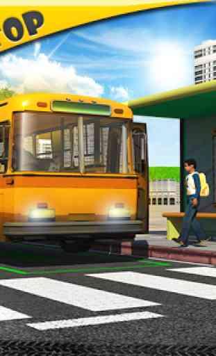 Schoolbus Driver 3D SIM 1