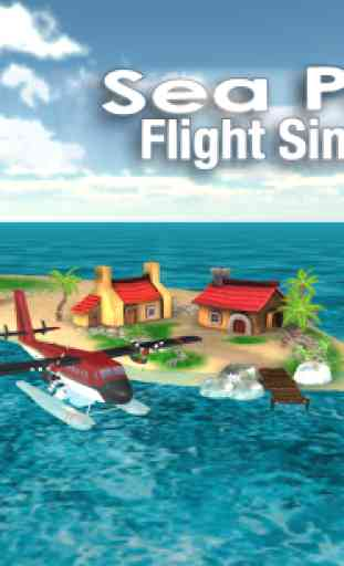 Sea Plane: Flight Simulator 3D 2