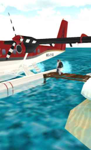Sea Plane: Flight Simulator 3D 3