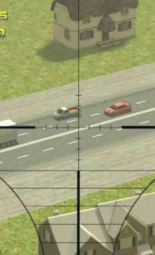 Sniper: Traffic Hunter 3