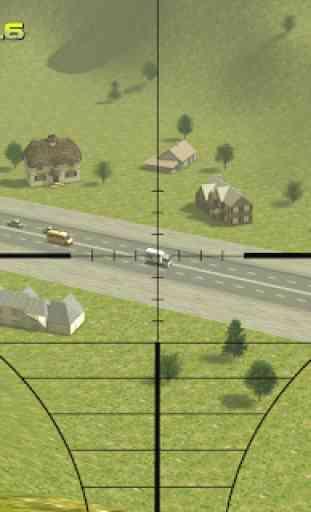 Sniper: Traffic Hunter 4
