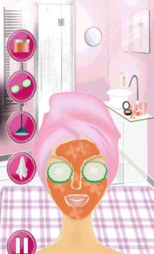Spa & Makeup Dress up 3