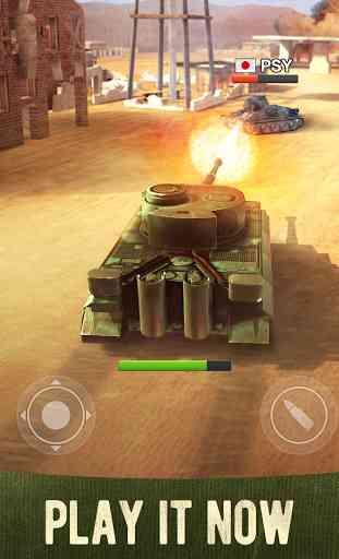 War Machines Tank Shooter Game 1