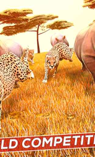Wild Animal Simulator Games 3D 2