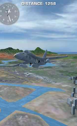 Airplane Fly Hawaii 4