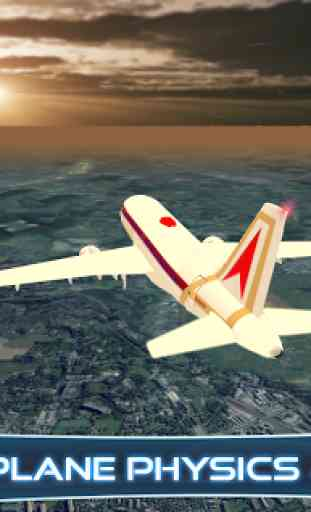 Airplane Flying simulator 2