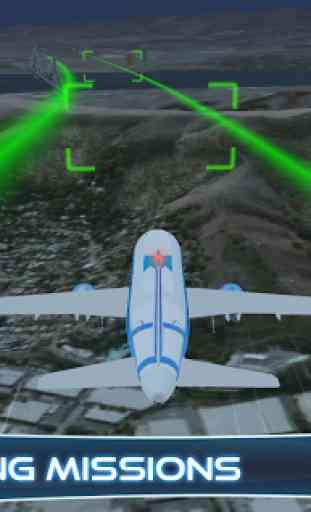 Airplane Flying simulator 3