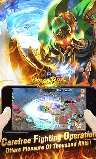 Dragon Blade - New Version War 3
