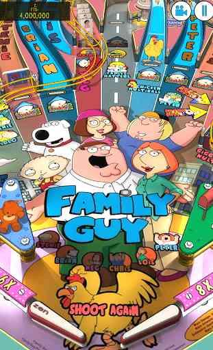 Family Guy Pinball 1