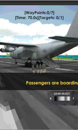 Flight Sim: Transport Plane 3D 4
