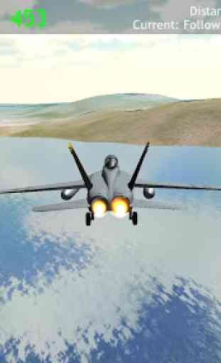 Fly Airplane F18 Jets 4