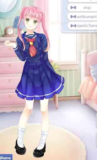 Gabby's Diary - Anime Dress Up 2