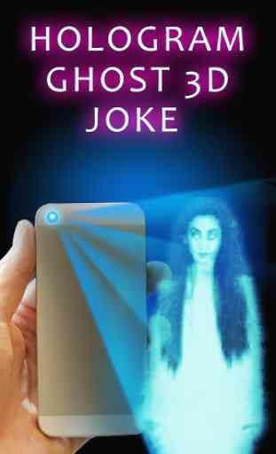 Hologram Ghost 3D Joke 3