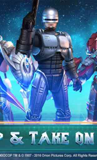 MOBA Legends: RoboCop Live! 3